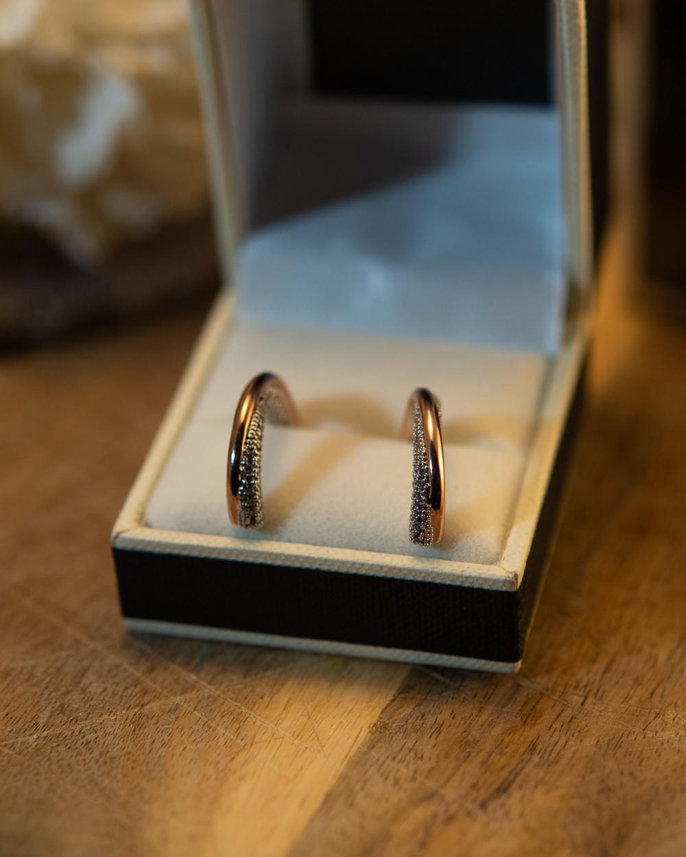 rose gold silver earrings london jewelry