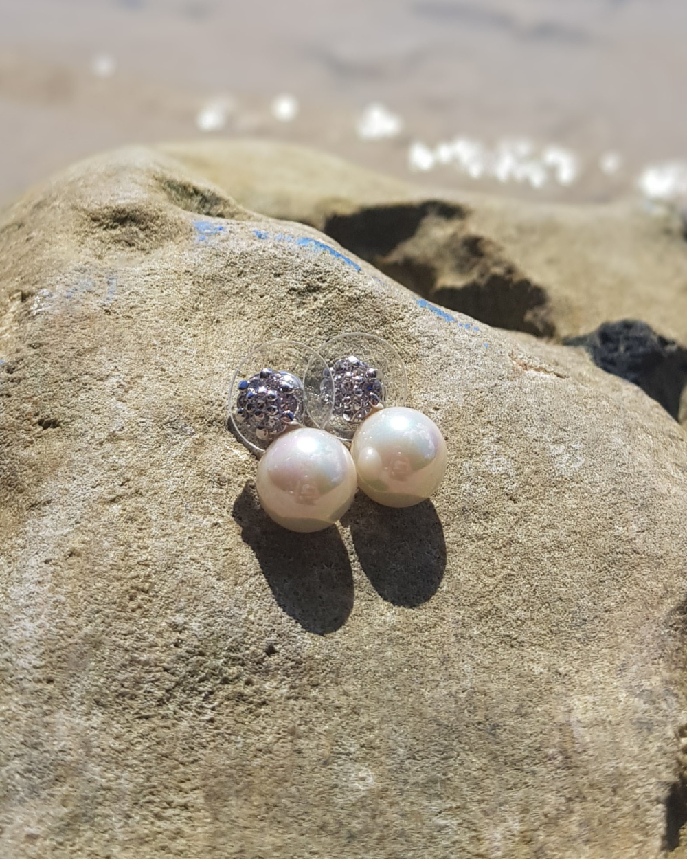 pearl silver earrings london jewelry